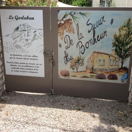 Chambre D'hôtes Villa de la Sueur au Bonheur : Bed and Breakfast near Saint-Zacharie