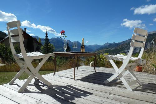 Chalet Montagne Alpes, Provence : Apartment near Faucon-de-Barcelonnette