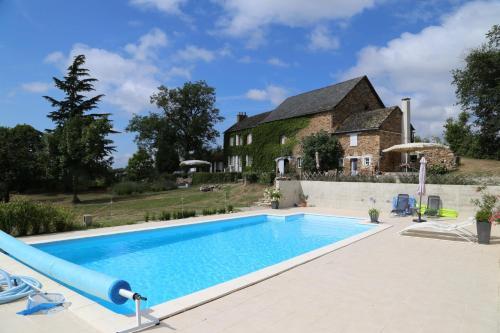White Stone : Guest accommodation near La Bastide-l'Évêque