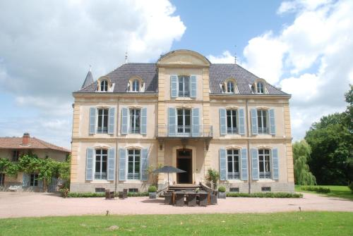 Chateau Les Bardons : Guest accommodation near Saint-Julien-de-Jonzy