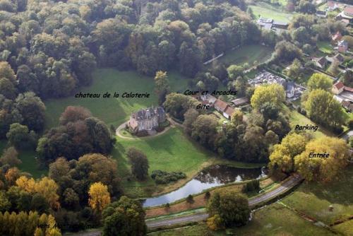 Gite Du Château De La Caloterie : Guest accommodation near Attin