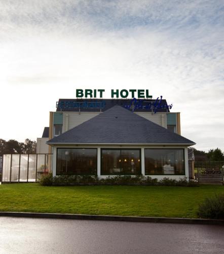 Brit Hotel De La Côte Des Havres : Hotel near Neufmesnil