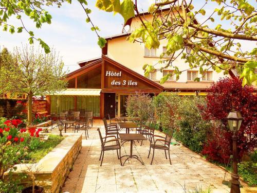 Hotel des 3 Iles : Hotel near Trépot