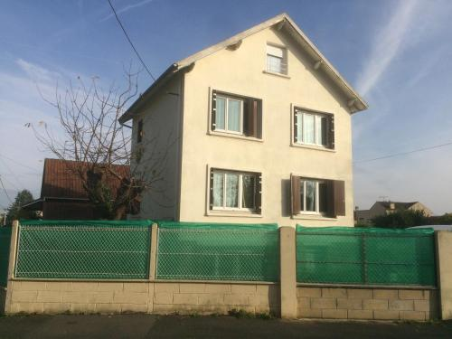 De attached house : Guest accommodation near Jagny-sous-Bois