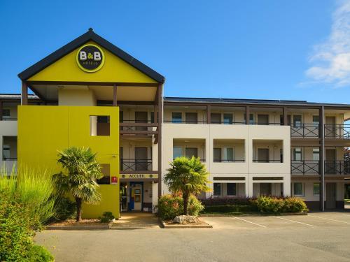 B&B Hôtel LENS Noyelles-Godault : Hotel near Moncheaux