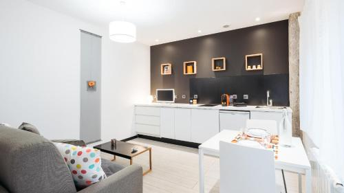 Le 9ème:studio contemporain à 300m du métro Lyon Vaise : Apartment near Dardilly