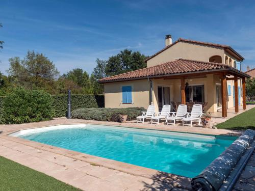 Villa Les Rives de l'Ardeche : Guest accommodation near Sampzon
