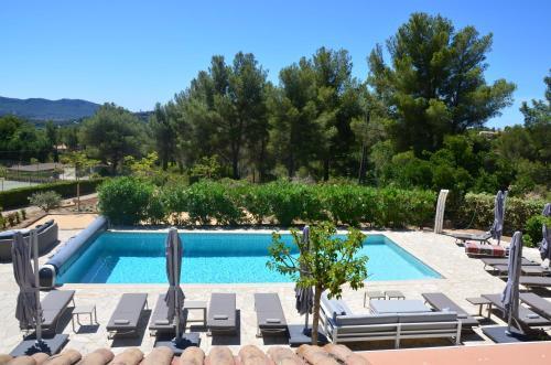 Domaine de Claude : Bed and Breakfast near Le Castellet