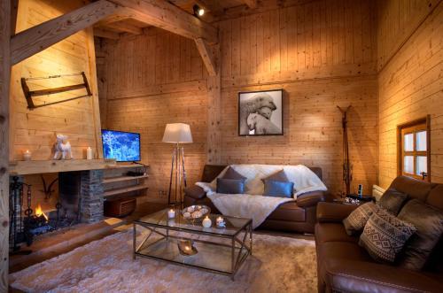 Chalet Megeve : Guest accommodation near Combloux