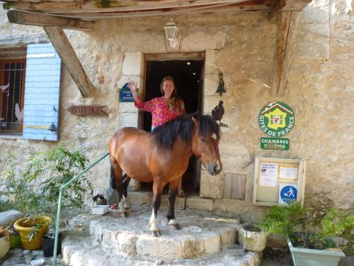 Ferme Saint Pierre : Guest accommodation near La Bastide