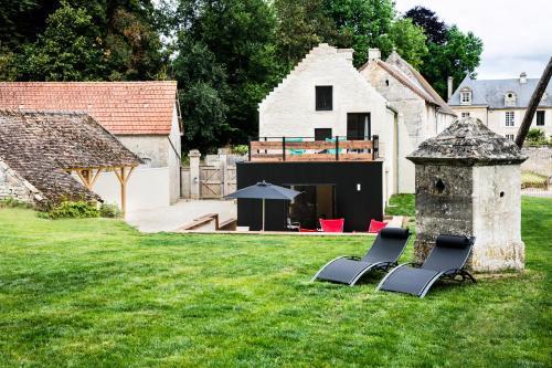 Chez Laurence du Tilly - L'annexe : Guest accommodation near Douvres-la-Délivrande