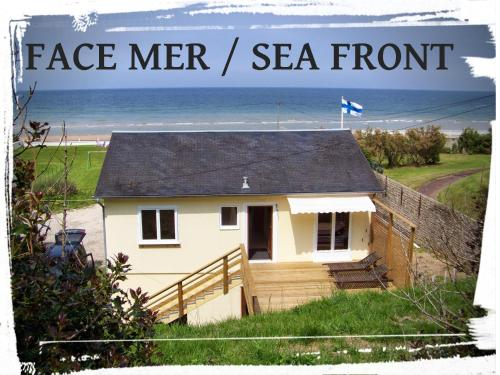 Finn Hus Omaha Beach : Guest accommodation near Saint-Laurent-sur-Mer