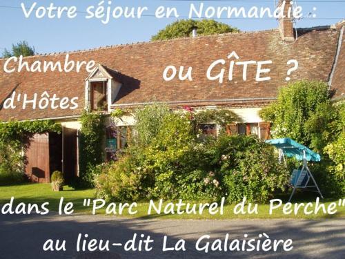Gîte de La Galaisière : Guest accommodation near Sérigny