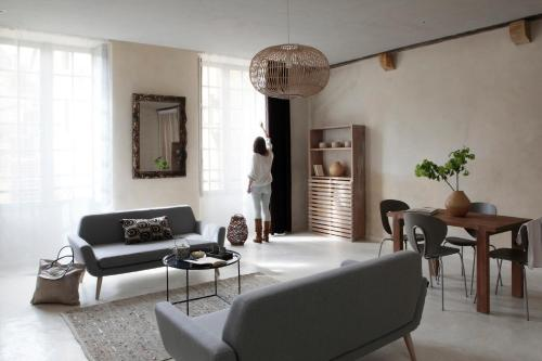Hôtel particulier de Monméja : Apartment near Saint-André-d'Allas