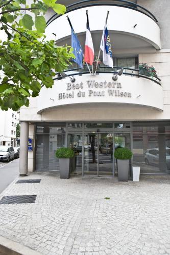 Best Western Hotel du Pont Wilson : Hotel near Lyon 3e Arrondissement