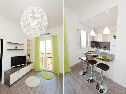 The 55bis : Apartment near Beaulieu-sur-Mer
