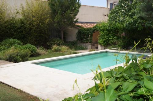 Domaine de la Girafe : Bed and Breakfast near Eyragues