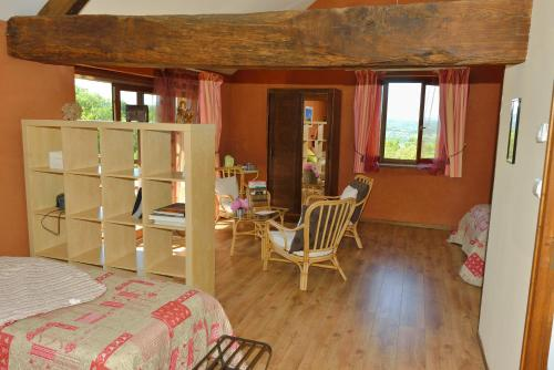 La Trancoulette : Bed and Breakfast near Massieu