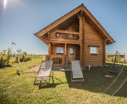 Ranch des bisons : Guest accommodation near Rosteig