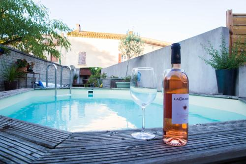 l'Ecrit Vin : Guest accommodation near Floure
