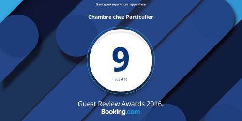 Chambre chez Particulier : Guest accommodation near Cagnes-sur-Mer