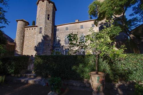 Château d'Agel gite : Guest accommodation near Aigues-Vives