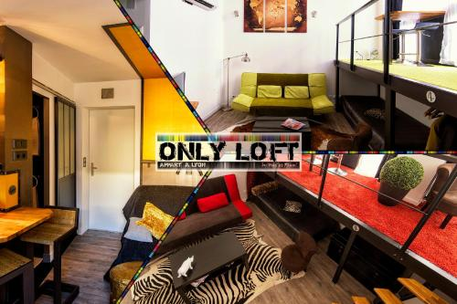 Apartment Only Loft Lyon Brotteaux-Part Dieu : Apartment near Villeurbanne