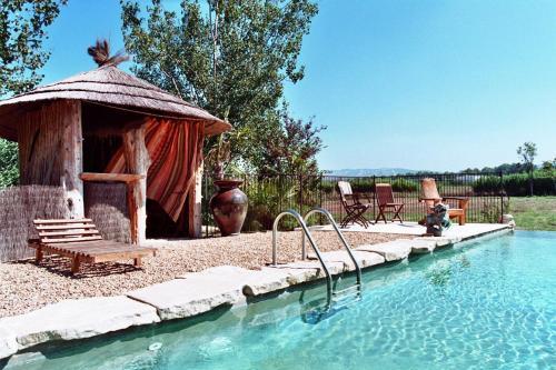 Le Mas de la Chouette : Guest accommodation near Mas-Blanc-des-Alpilles