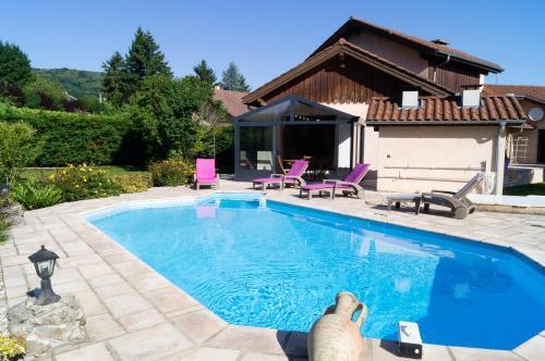 Gîte de l'étang des chartreux : Guest accommodation near Bilieu