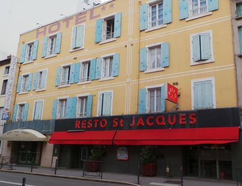 Logis Hôtel Saint Jacques : Hotel near Guilherand-Granges