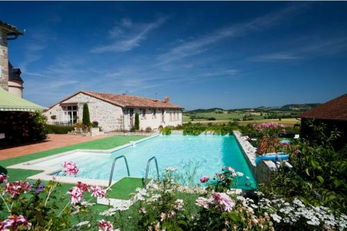Domaine d'En Naudet : Guest accommodation near Cuq