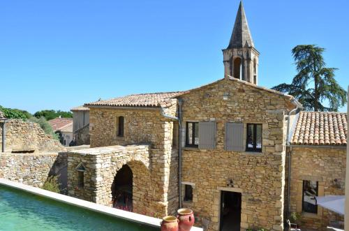 Les Ateliers de la Bastide : Guest accommodation near Saint-Marcel-de-Careiret