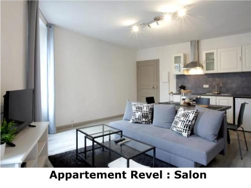 Appartement Revel : Apartment near Saint-Paulet