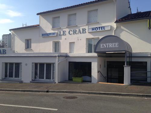 Hôtel Le Crab : Hotel near Gond-Pontouvre