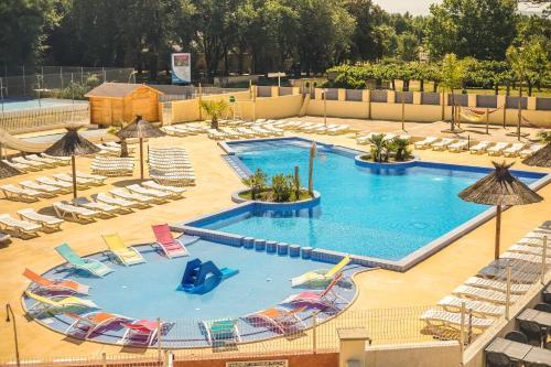 Camping Le Pearl **** : Guest accommodation near Ortaffa