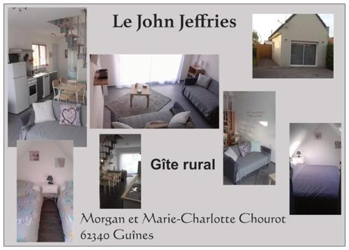 Gite Le John Jeffries : Guest accommodation near Campagne-lès-Guines