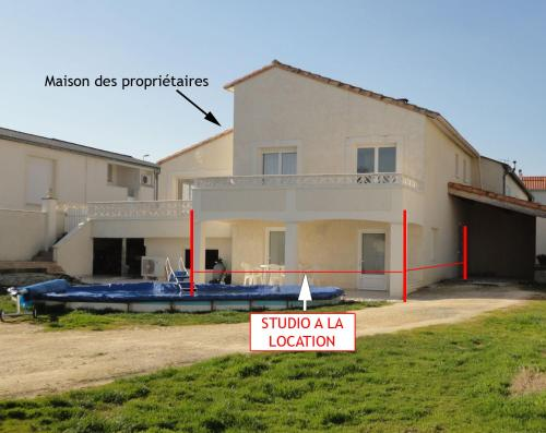 Gîte Benardière : Apartment near Semussac