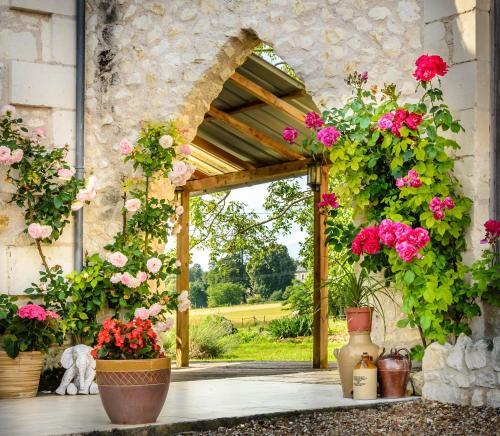 Gites Arches de Muschamp : Guest accommodation near Saint-Rémy-sur-Creuse