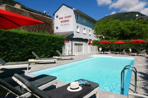 Hôtel d'Etigny : Hotel near Saccourvielle