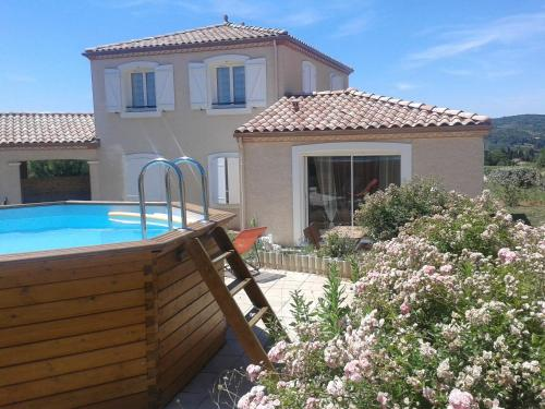 L'Ecrin Cathare : Guest accommodation near La Digne-d'Aval