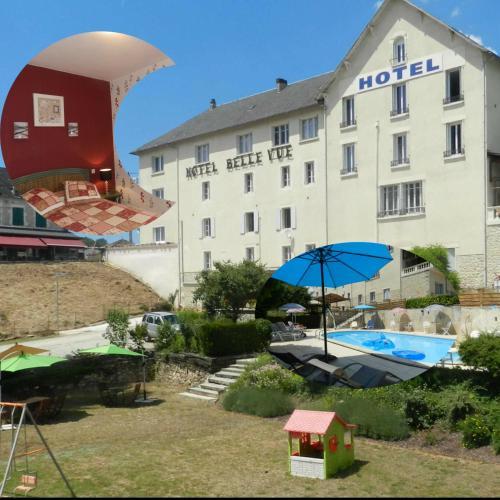 Hotel Belle Vue : Hotel near Cazoulès