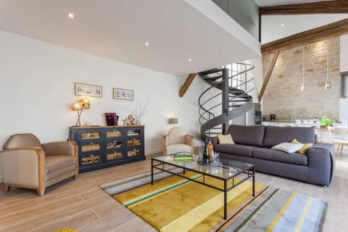 Loft côté jardin : Guest accommodation near Saint-Étienne-à-Arnes