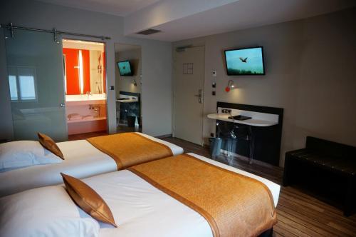 Hôtel de Bourgogne - Mâcon : Hotel near Chevagny-les-Chevrières