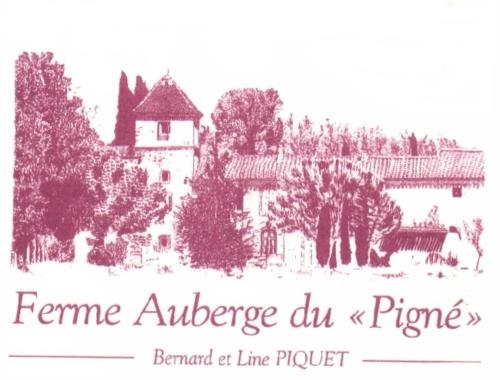 Ferme auberge du Pigné : Bed and Breakfast near Bram