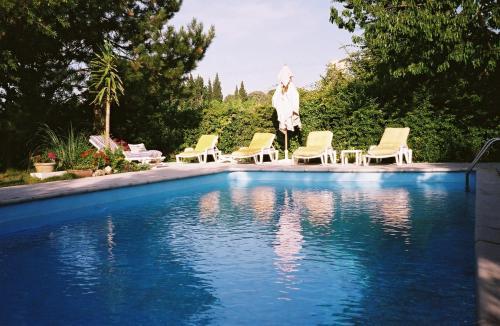 Gîte Saint-Veredeme : Guest accommodation near Sauveterre