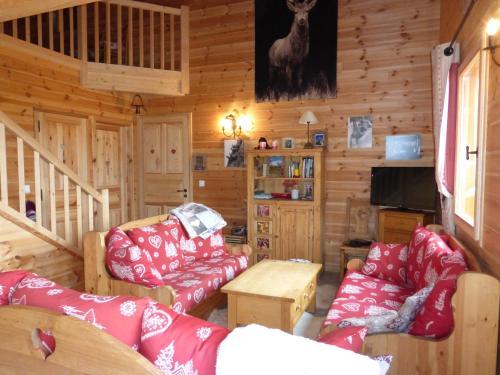 Chalet Le Villard : Guest accommodation near Faucon-de-Barcelonnette