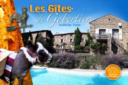Holiday home Gobertier : Guest accommodation near Saint-Romain-d'Ay