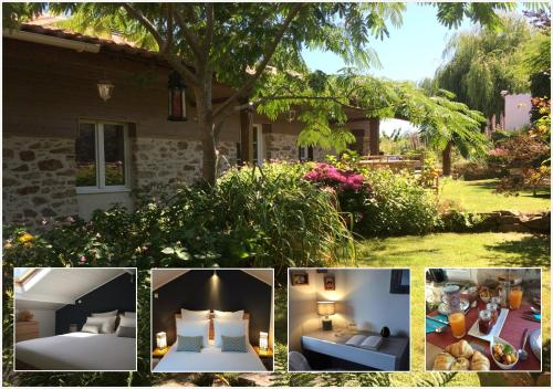 Chambres d'hôtes de La Roche : Bed and Breakfast near Frossay