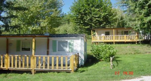 Camping Parc de Palétès : Guest accommodation near Marsoulas