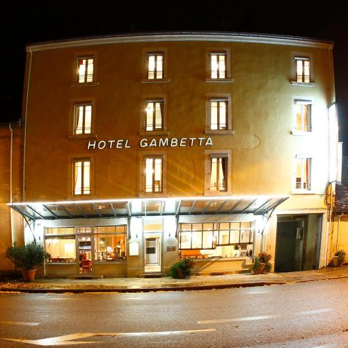 Hôtel Gambetta : Hotel near Le Planois
